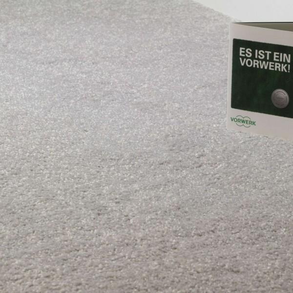 Teppichboden Vorwerk Passion 1001 5U99 Soft-Frisé Silber Grau