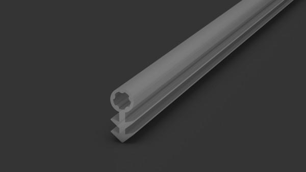Aluminium Prinz Fußleiste 359 Schlauchdichtung Transparent