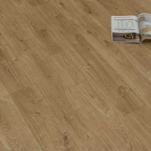 PVC Bodenbelag Holz Rustikal Beige mit Textilrücken