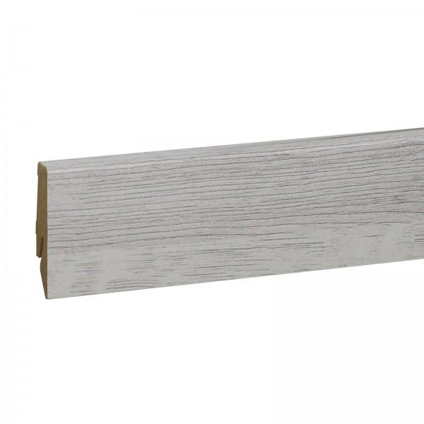 Kronotex Ktex1 D3181 Rip Oak Weiss 240 cm Randleiste - M U S T E R