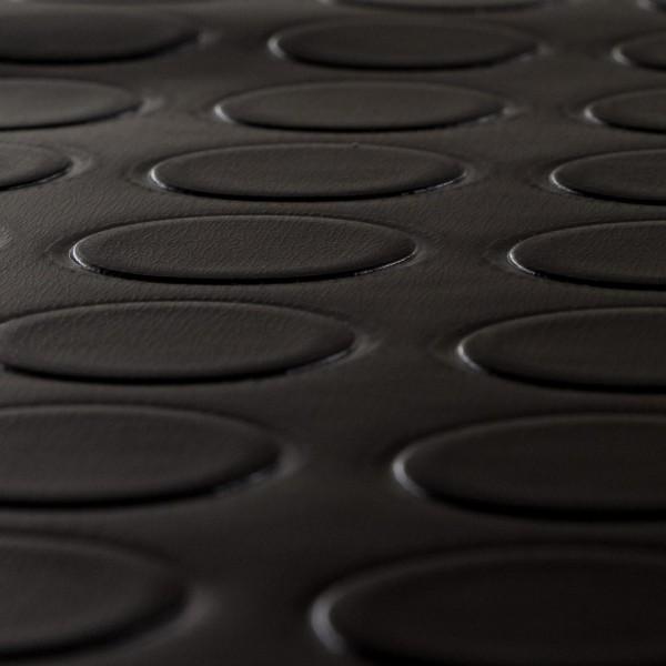 pvc bodenbelag noppenbelag noppe uni schwarz noppenbelag pvc cv bel ge design pvc vinyl. Black Bedroom Furniture Sets. Home Design Ideas
