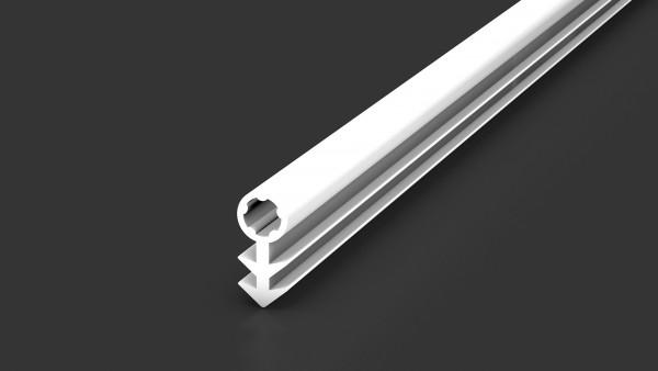 Aluminium Prinz Fußleiste 359 Schlauchdichtung Weiß