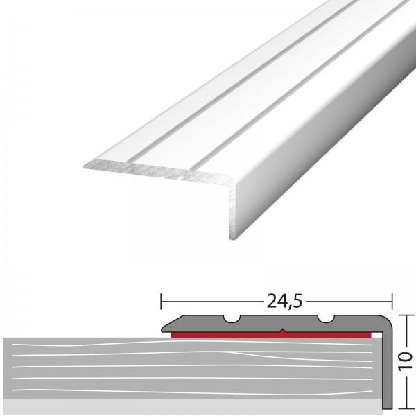 Winkelprofil 24,5x10 mm Silber 270 cm Selbstklebend - 1602411270