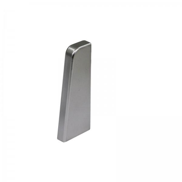 Endkappe Rechts Silber Glanz für Kronotex Ktex1 Randleiste
