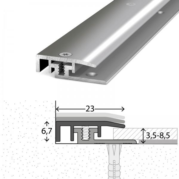 Abschlussprofil 3,5-8,5 mm LPS Design Edelstahl Poliert 100 cm - 3281309100
