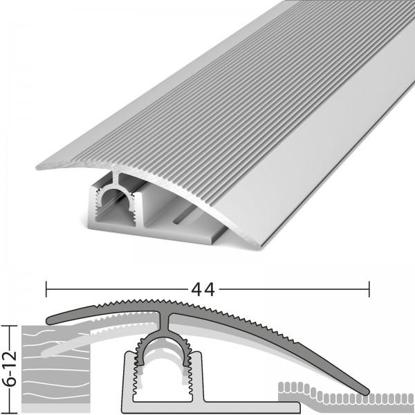 Anpassungsprofil 6-12 mm Profi-Tec Junior Silber 100 cm - 3181011100