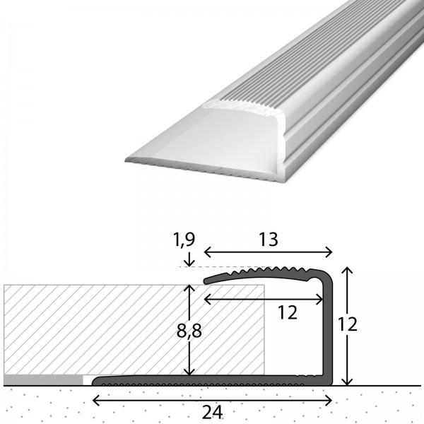 Einfassprofil 7-9 mm Silber 270 cm - 2502011270