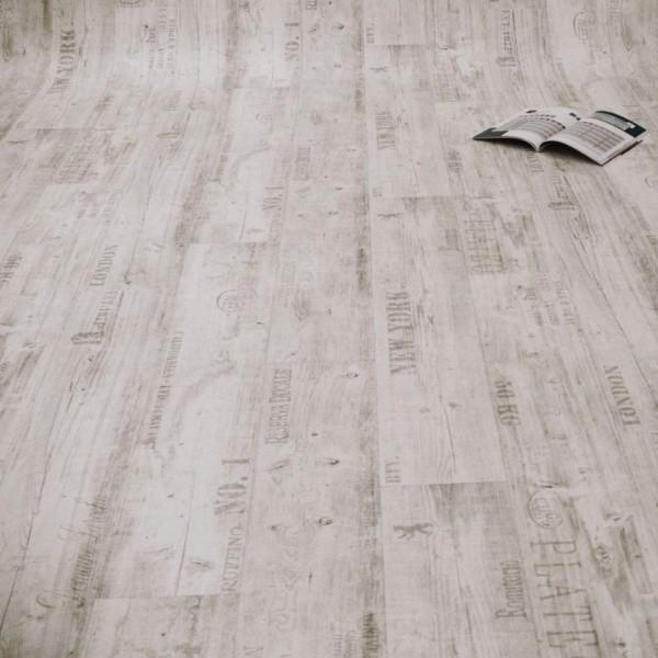 PVC Bodenbelag Rustikal Hell mit Aufdruck - M U S T E R