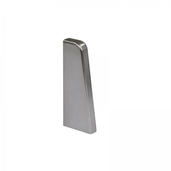 Endkappe Links Silber Glanz für Kronotex Ktex1 Randleiste