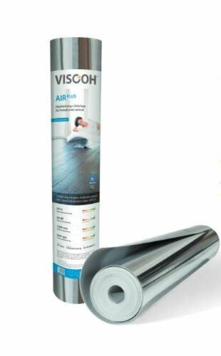 Viscoh AIR PLUS High End Trittschalldämmung für Laminat und Parkett- 12,5 m²