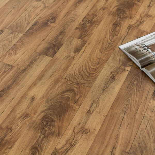 Tarkett 150 Jura Brown - PVC Bodenbelag Holz Rustikal Extra