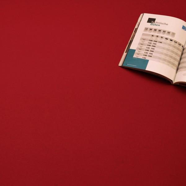 pvc bodenbelag einfarbig uni rot red bodenmaster palma ohg. Black Bedroom Furniture Sets. Home Design Ideas