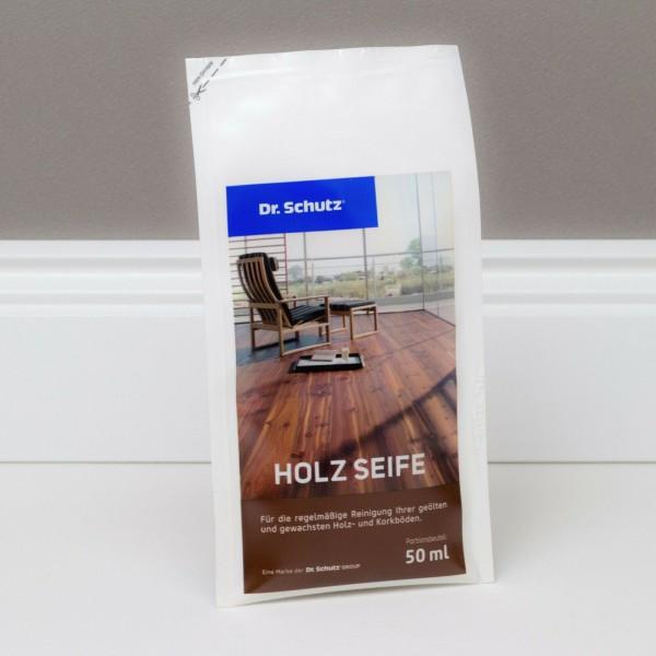 Dr. Schutz Holz Seife Portionsbeutel - 50 ml