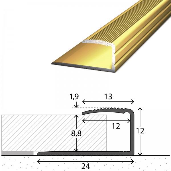 Einfassprofil 7-9 mm Gold 90 cm - 2502010090