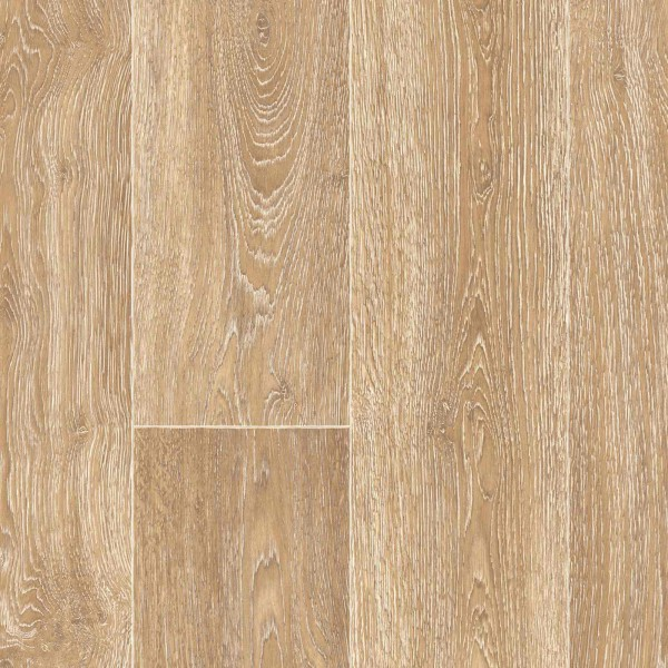 PVC Bodenbelag Holz Eiche Beige mit Textilrücken Chaparral Oak 532