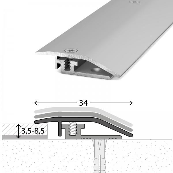 Anpassungsprofil 3,5-8,5 mm LPS Design Silber 100 cm - 3271311100