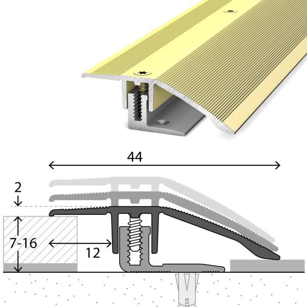Anpassungsprofil 7-16 mm LPS 220 Sahara 270 cm - 2212313270
